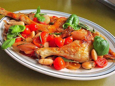 Italienische Len by H 228 Hnchenkeulen Auf Italienische Rezept Mit Bild