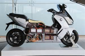 Bmw Electric Motorcycle In Detail Bmw C Evolution Electric Maxi Scooter
