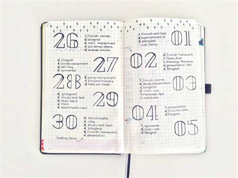 how to bullet journal 15 15 daily lay outs voor je bullet journal without