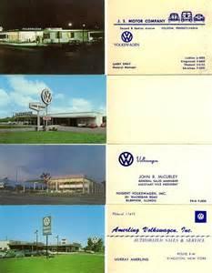 volkswagen business cards thesamba gallery vw dealer business cards