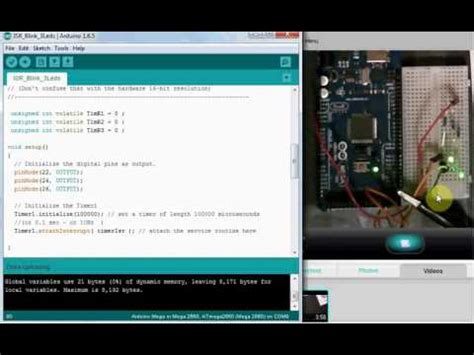tutorial arduino millis tutorial arduino uno blink an led without using the de