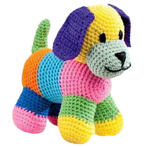 crochet toys puppy soft crochet animal made to order 10 quot