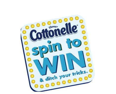 Spin To Win Sweepstakes - cottonelle spin to win contest instant win prizes