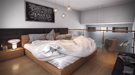 Loft Bedroom Decor by Loft Design Inspiration
