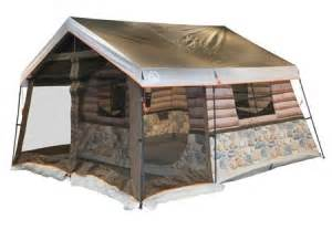 the igloo log cabin tent with screen porch