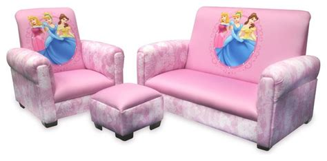 childrens sofa set disney princess hearts and crowns toddler sofa chair and