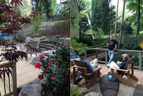 Flemings Gardens by Deck Gardens Mcgill Fleming Landscapes