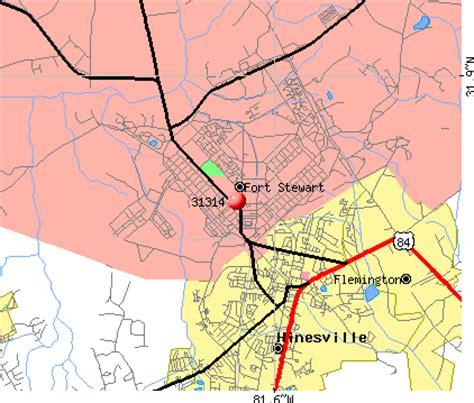 map of fort stewart 31314 zip code fort stewart profile homes
