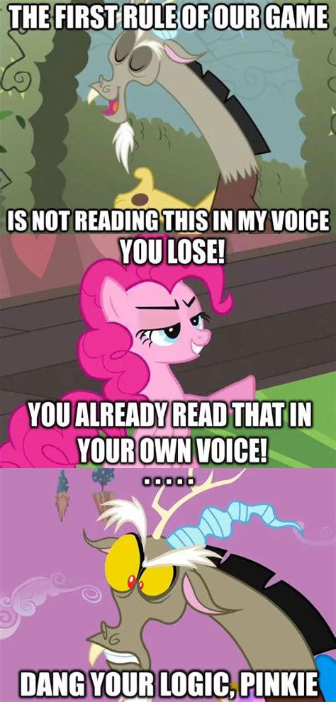 Know Your Meme My Little Pony - pinkie logic my little pony friendship is magic know your meme