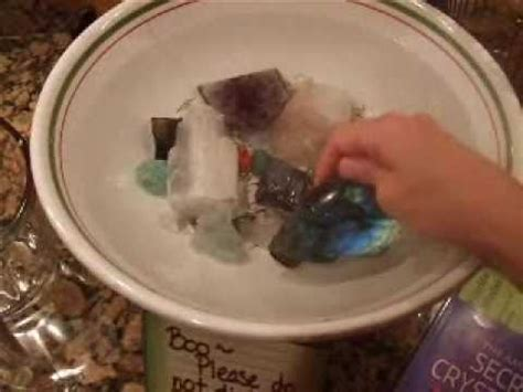 Crystals To Detox The by How To Cleanse Your Crystals