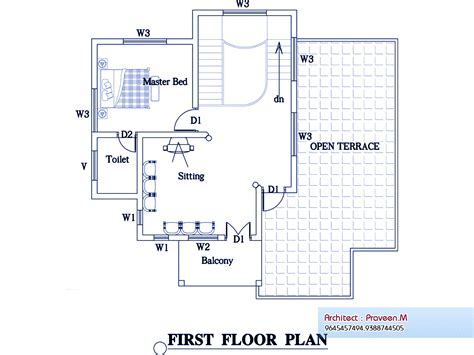 2100 square feet 2100 square feet 3 bedroom double floor home design and