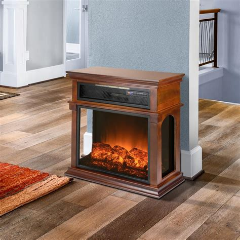 Akdy 29 In Freestanding Electric Fireplace Mantel Heater Electric Fireplace Freestanding