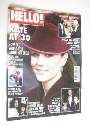 Kate In Magazine I Am A Bit Wacky by Hello Magazine Kate Middleton Cover 16 January 2012