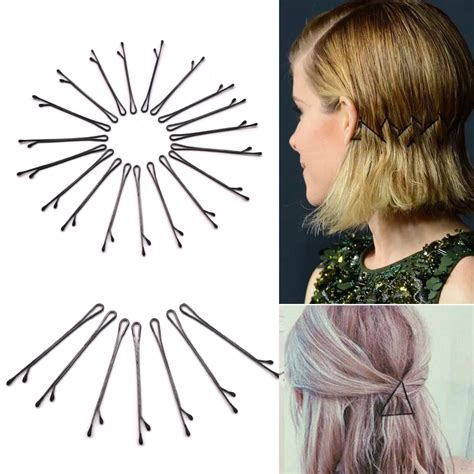 Hair Clip Stylist Curly And 60pcshair for hair clip invisible curly wavy grips salon barrette hairpins