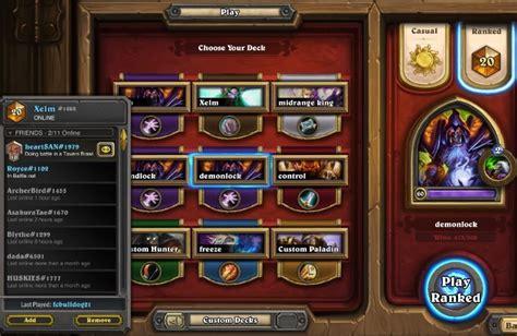 best deck for ranked s17 top 20 legendary demonzoo hearthstone decks