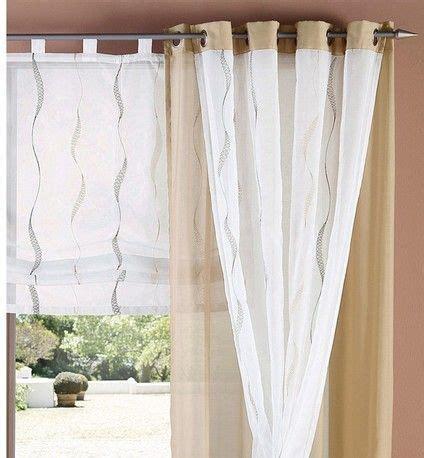gardinen braun gardinen muster fr wohnzimmer - Gardinen Braun Weiß