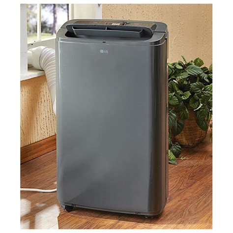 Ac Portable lg 12 000 btu portable air conditioner dehumidifier refurbished 591300 air conditioners
