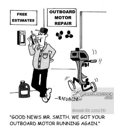 cartoon boat motor outboard motors cartoons and comics funny pictures from
