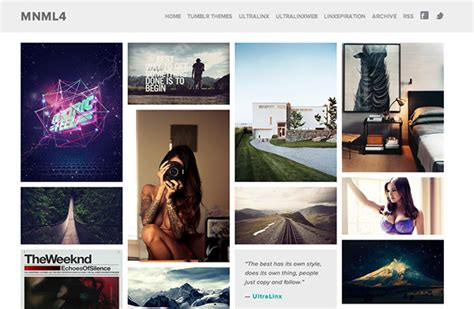 tumblr themes free html grid 45 free grid based tumblr themes inspirationfeed