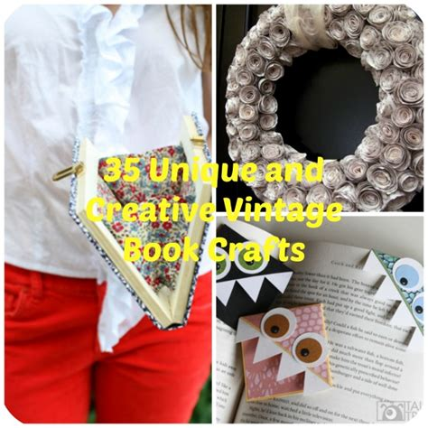 diy crafts with 35 unique diy project ideas to repurpose books