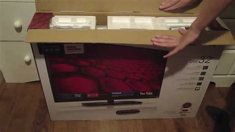 80 Inch Tv Unboxing by Vizio 32 Inch Smart Tv Unboxing