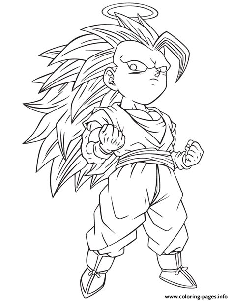 z coloring book z gotenks coloring page coloring pages printable