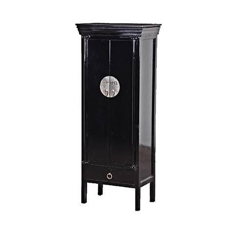 chinese black lacquer cabinet black lacquered chinese cabinet by out there interiors