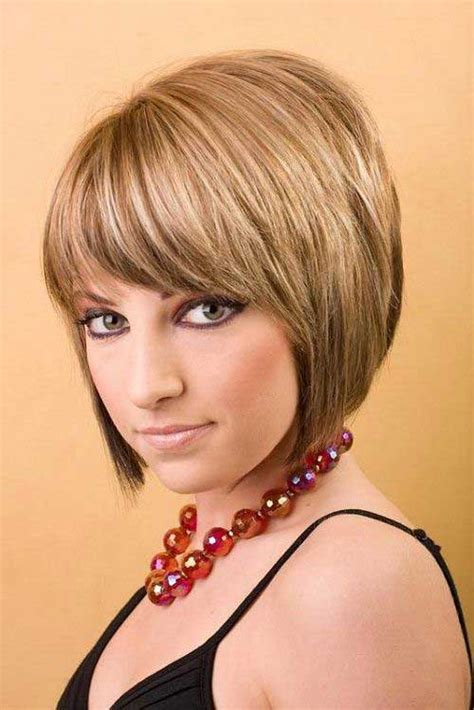 reverse bob haircut with bangs bob with bangs the best short hairstyles for women 2016