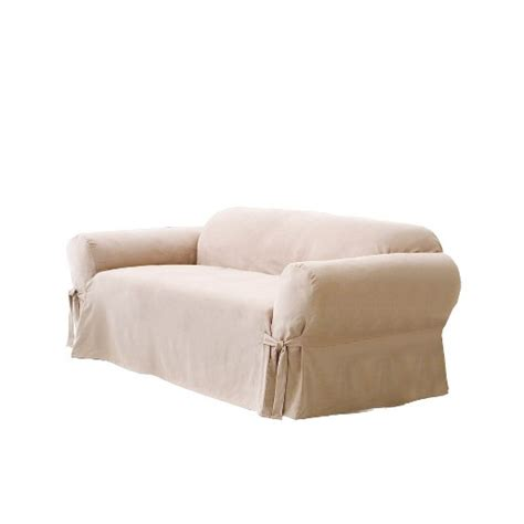 sure fit sofa covers target soft suede sofa slipcover taupe sure fit target