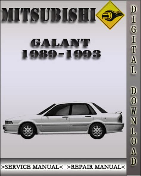mitsubishi galant 1989 1990 1991 service manual repair7 1989 1993 mitsubishi galant factory service repair manual 1990 1991