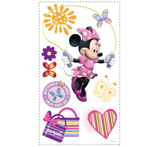 minnie mouse wall sticker minnie mouse wall decals baby n toddler