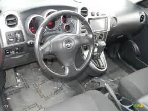 Toyota Matrix Interior Gray Interior 2003 Toyota Matrix Xr Photo 59641253