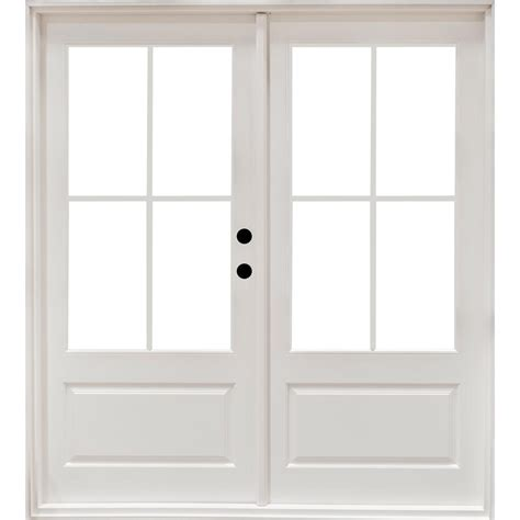Masterpiece 71 1 4 In X 79 1 2 In Fiberglass White Left Masterpiece Patio Door Reviews