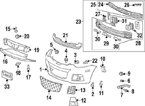 saturn vue parts diagram parts 174 saturn grille frt bpr lwr fascia si