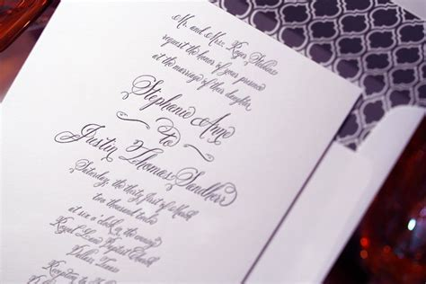 diy wedding invitations   Lettering Art Studio