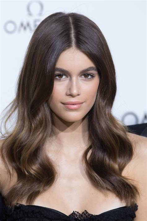 kaia gerber hair color celebrity inspired best hairstyles 2018 hairdrome