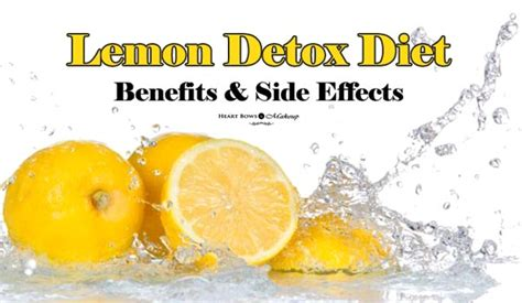 Lemon Detox Diet Plan Free by Decoding The Lemon Detox Diet Plan Benefits Weight Loss