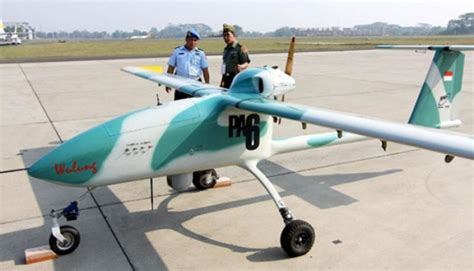 Drone Bandung ptdi produksi drone wulung bersertifikat tipe imaa teknologi
