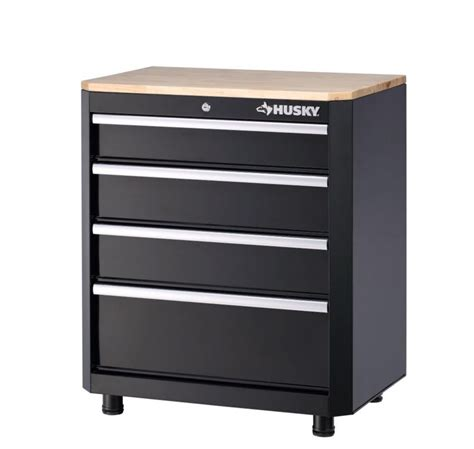 husky garage cabinets store husky 28 inch 4 drawer base cabinet the home depot canada