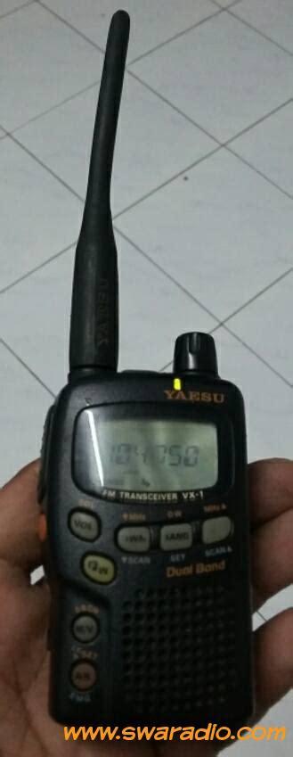 dijual ht yaesu vx 1 baterai lumayan awet swaradio