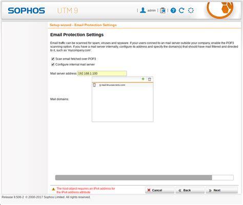 tutorial sophos utm 9 install sophos utm9 linuxsecrets