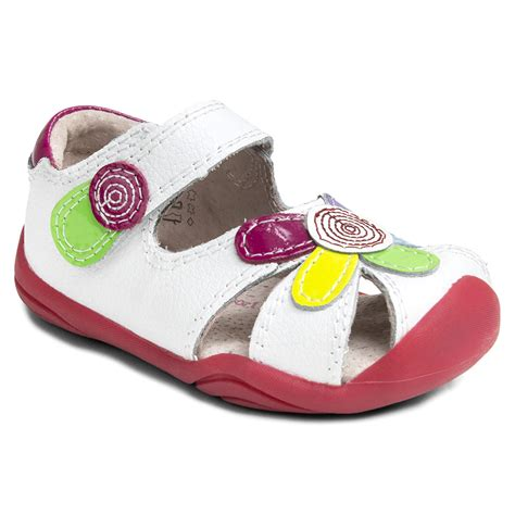 pediped infant shoes grip n go white multi pediped footwear