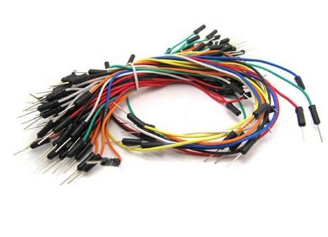 Kabel Jumper Breadboard Arduino Wire Sensor Cable B diy arduino and breadboard jumper cables from scrap electronics
