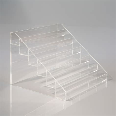 display small tiered display stand small items creative plastics