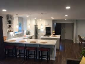 Open Concept Kitchen, Living and Dining Area Remodel