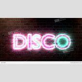 Disco Logo Neon...