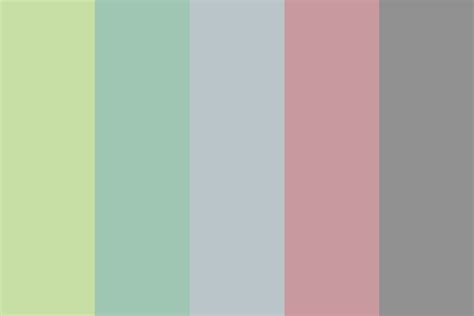 spring color schemes faded spring color palette