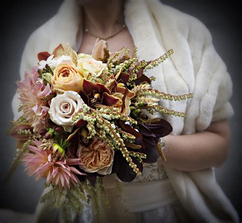 Fall Wedding Flower Pictures by Fall Wedding Bouquet Petalena Creative Designs For
