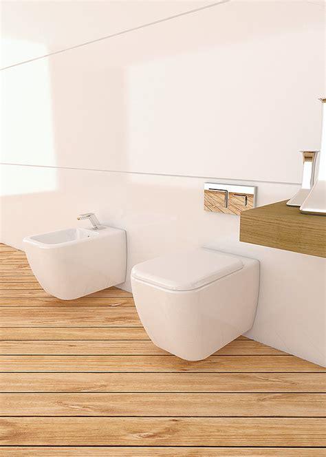 vaso bidet sospeso wc con bidet sospesi area sanitari sospesi