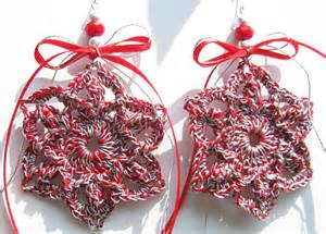 Buy Christmas Tree Decorations - christmas ornaments crochet red and silver by doilydeas on deviantart
